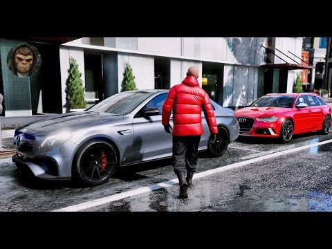 ► GTA 6 Graphics - Mercedes E63s AMG 2018 ✪ M.V.G.A. - Gameplay! - Realistic Graphics MOD PC 60FPS