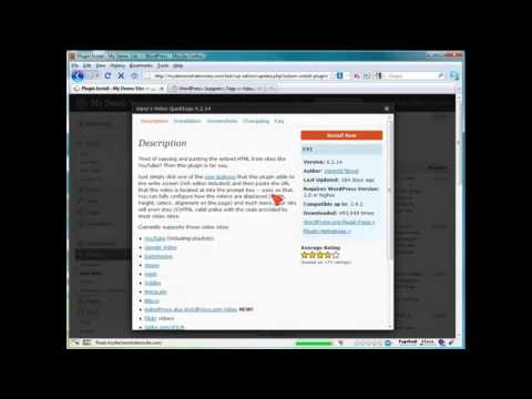 How to Add Streaming Video in WordPress? (40) Wordpress Video Tutorials #1