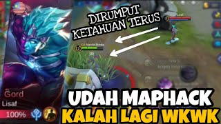 VIRALIN!! UDAH CHEAT MAP HACK KALAH LAGI WKWKKW