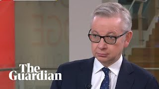 Michael Gove insists UK will leave EU by end of October