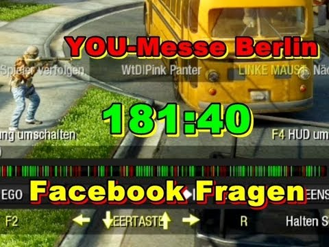 BLACK OPS - BO | Berlin YOU Messe und Facebook beantwortet [Commentary HD]
