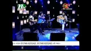 Bappa - Ami Tomake Bole Debo (Live with Partho and Haider)