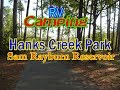 RV Camping Hanks Creek Park Sam Rayburn Lake | Love Bug Challenges!