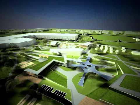Preddiplomový projekt - Architektonicko urbanistikcký koncept