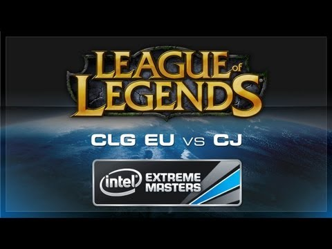 CLG.eu vs CJ Entus IEM Cologne League of Legends 2012