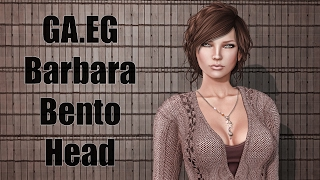 GA.EG Barbara Bento Mesh Head in Second Life