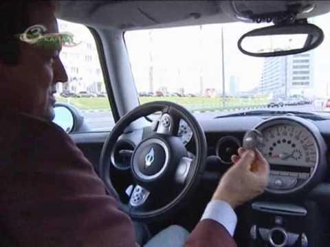 Mini Cooper S, тест-драйв часть 1