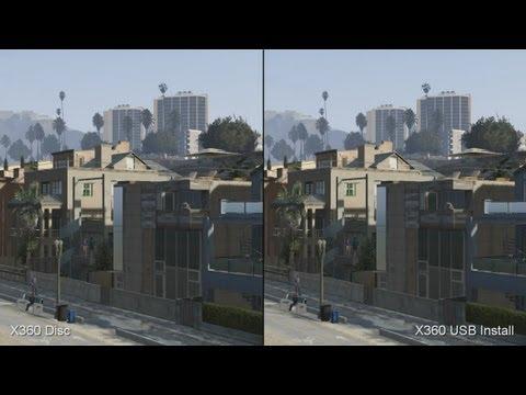 Grand Theft Auto 5: Installing Xbox 360