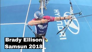 Brady Ellison Shooting Archery Samsun 2018 World Cup Final