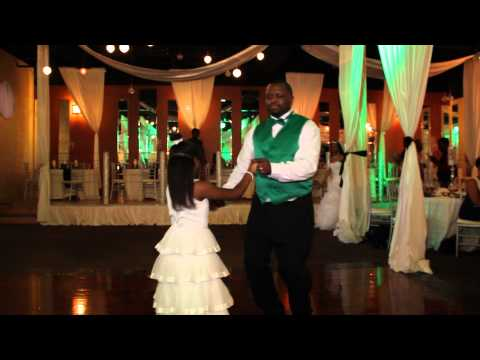 Father & Flower Girl Dance @ The Browns Wedding #627