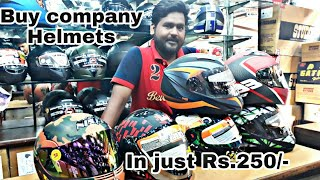 Cheapest Helmets Shop | in Just Rs.250 | New Delhi | by Moto beast