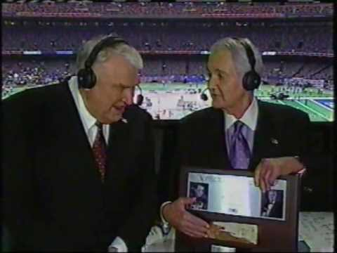 Pat Summerall FOX Retirement 2002