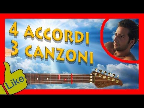 4 Accordi, 3 Canzoni Facili Da Suonare!