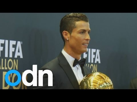 Cristiano Ronaldo wins third Fifa Ballon d'Or award