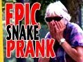 Youtube replay - Epic Snake Prank