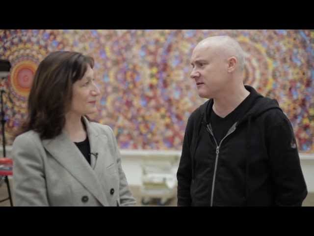 Damien Hirst Walkthrough with Ann Gallagher and Damien Hirst