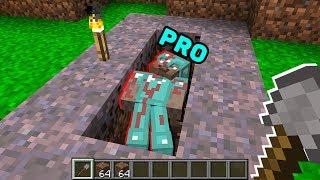 Minecraft NOOB vs PRO : NOOB FOUND A GRAVE! Challenge in Minecraft (Animation)