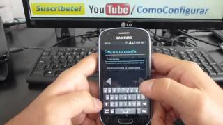 como registrarse en google play store Samsung Galaxy S3 Mini español Full HD