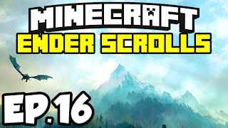 The Ender Scrolls: Minecraft Modded Map Ep.16 - HEROBRINE SIGHTING!!!