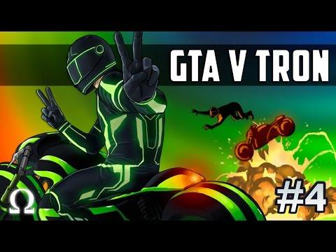 MR. GIGGLES GETS OHMWRECKED! | GTA V Deadline (TRON) #4 Ft. Delirious, Satt, Bryce