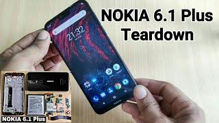 NOKIA 6.1 Plus Teardown | Disassemble | Replacement | Remove Battery | Back Panel | Display | Repair