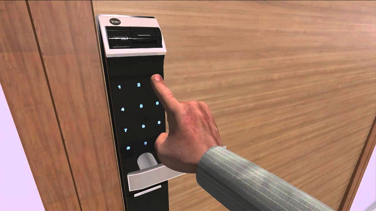 Yale Digital Door Lock Video Youtube