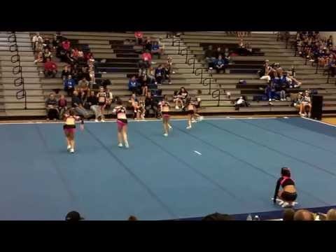 Cheer Illusion All Stars @ Winter Warm-Up - Maiden High School