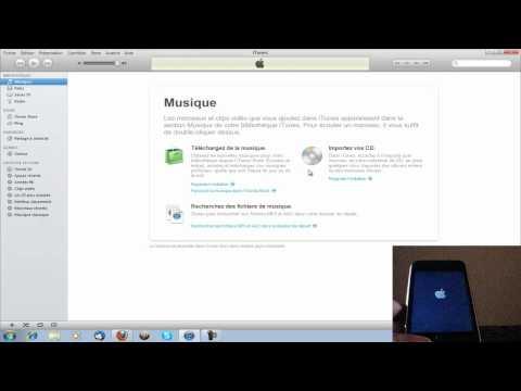 Installation et présentation de l'IOS 5 sur iPhone 3GS