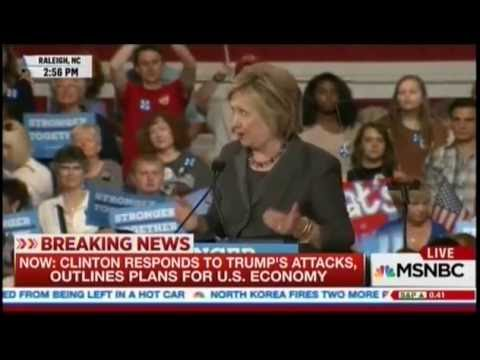 Clinton: We Need To Raise Sluggish Incomes In Obama Economy