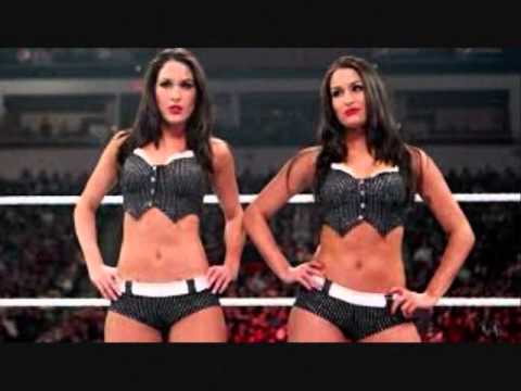 Ready for some Twin Magic? Nikki and Brie, the Bella twins!