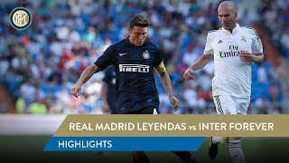 HIGHLIGHTS REAL MADRID LEYENDAS-INTER FOREVER