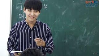 Lớp luyện nghe nói với giáo viên Hàn Quốc