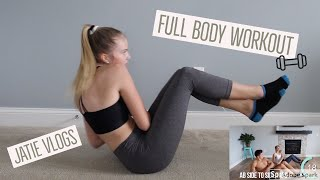 I did J80's first workout video