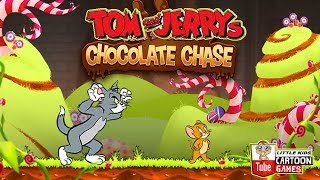 Tom And Jerry - Chocolate Chase. Fun Tom and Jerry 2018 Games. Baby Games #LITTLEKIDS