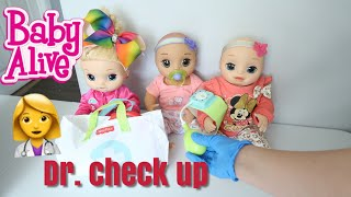 BABY ALIVE Twins And Lulu Go for A Check Up Medical Kit