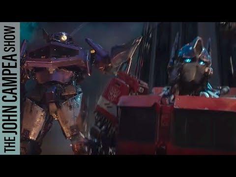 Bumblebee Trailer Features Original Transformers Designs! - The John Campea Show