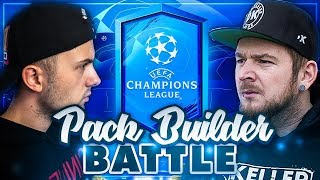FIFA 19: Champions League PACK Builder BATTLE vs DerKeller 😱🔥