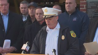 Press Conference: Worcester Fire Department Gives Update On Lowell Street Fire