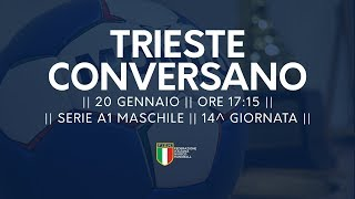 Serie A1M [14^]: Trieste - Conversano 19-27