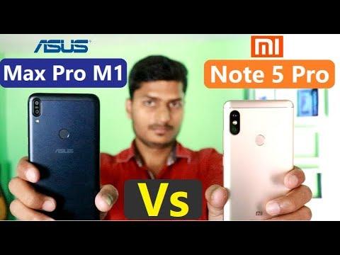 asus zenfone max pro m1 vs redmi note 5 pro full