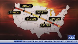 CBS NC heads to Macon County for the Great Carolina Eclipse