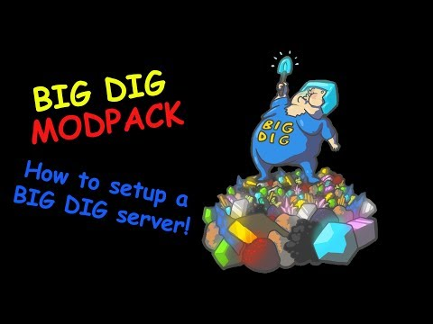 Big Dig Modpack - How To Setup A Big Dig Server (Technic Launcher)