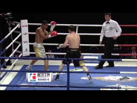 Astana Arlans Kazakhstan v Puerto Rico Hurricanes - World Series of Boxing Season V Highlights