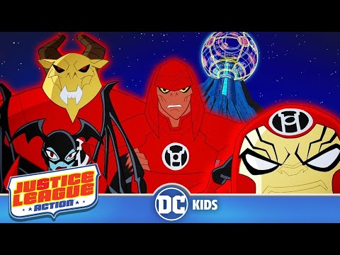 Justice League Action | Red Lantern Trouble | DC Kids