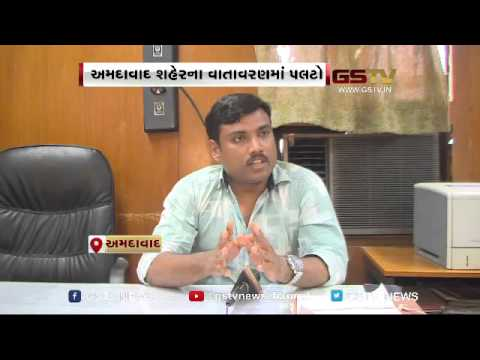 Ahmedabad: City Covered by heavy sand-blanket, causes inconvenience to vehicle riders