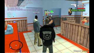 Grand Theft Auto San Andreas Multiplayer: Death At Temple Burger Shot (NGRP)