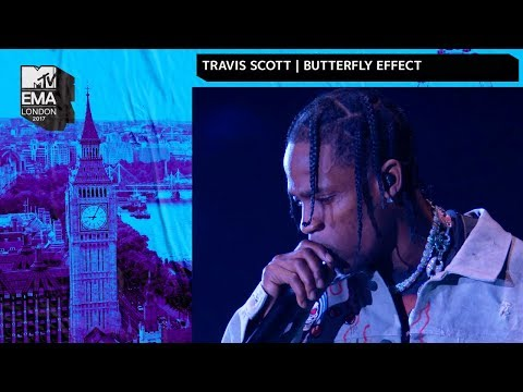 Travis Scott Performs Butterfly Effect  MTV 2017 EMAs   Performance