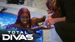 Naomi performs as a mermaid: Total Divas, Oct. 15, 2019