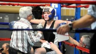 Kira Ollila vs. Andrea Evans Golden Gloves Boxing (February 11)