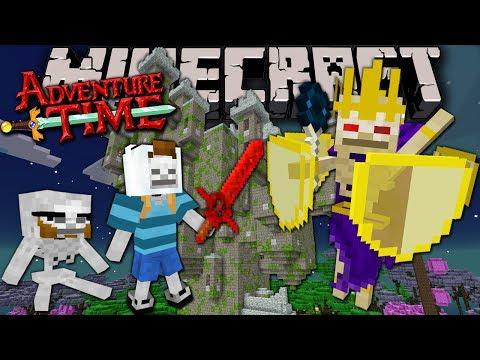 Minecraft: Adventure Time Lich Wiz Biz Trapped in Twilight Forest Episode 9